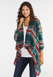 Autumn Green Plaid Jacket