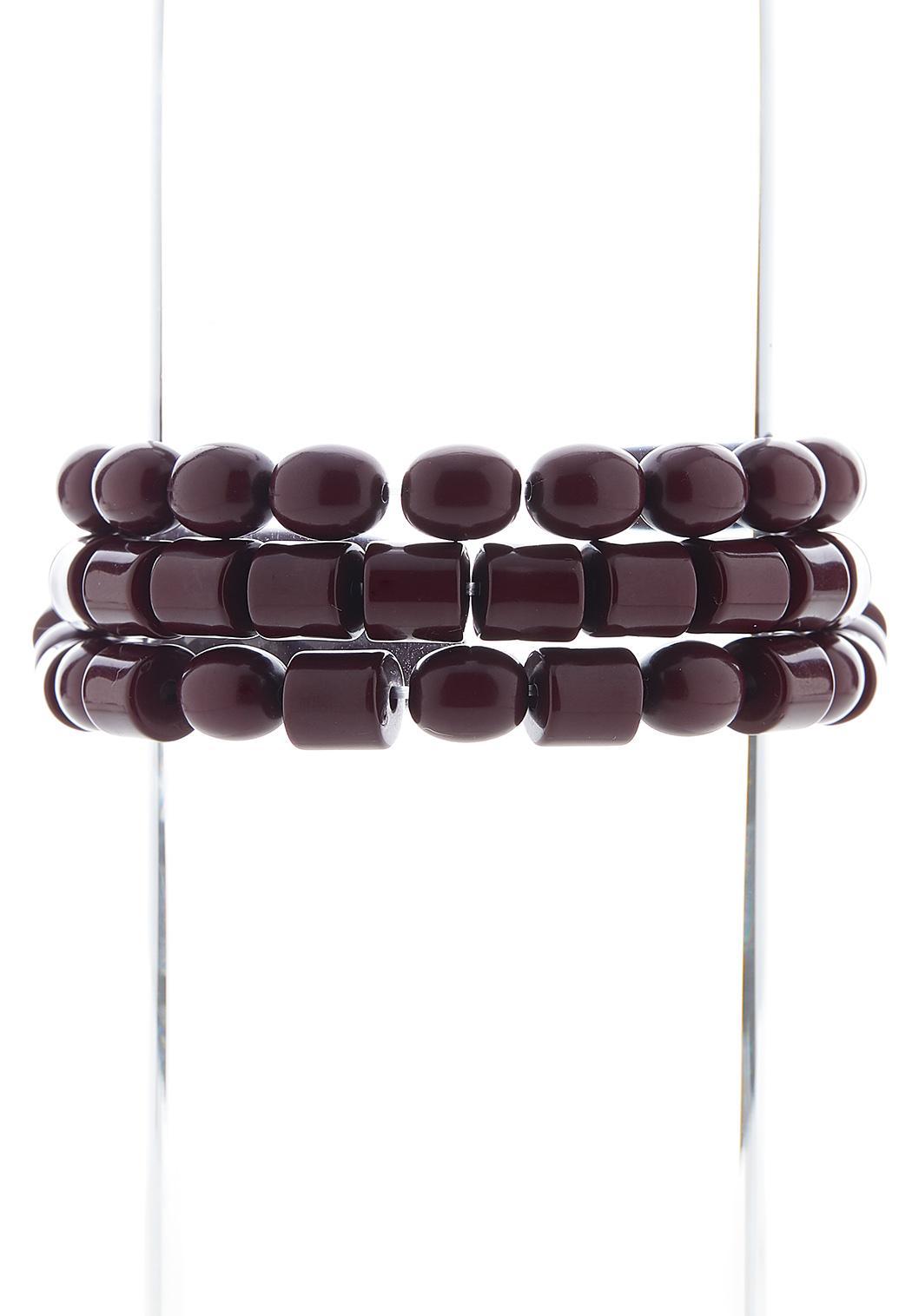 Smooth Stretch Bead Bracelet Set