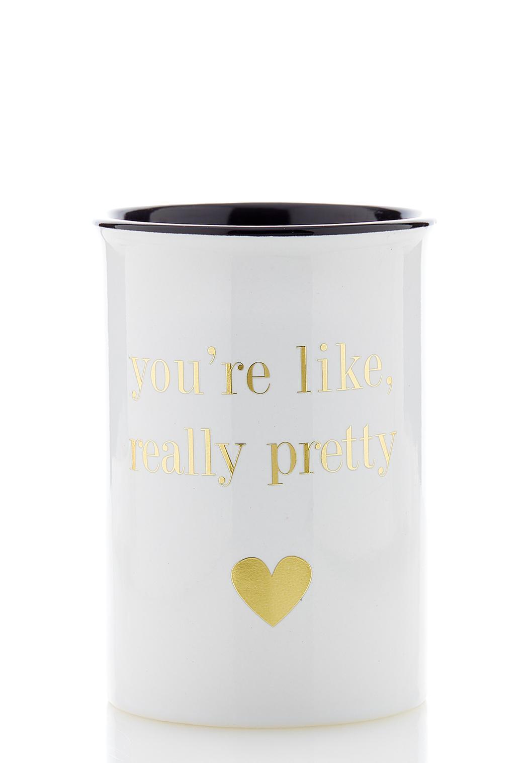 You`re Pretty Ceramic Holder