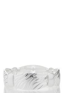 Zebra Metal Stretch Bracelet