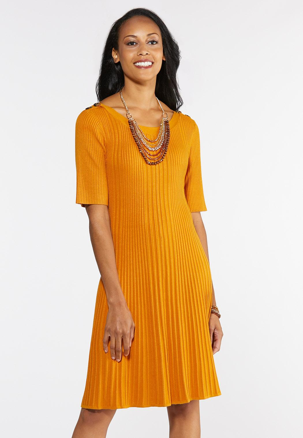 Plus Size Ribbed Sweater Dress Plus Sizes Cato Fashions