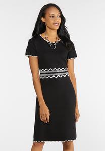 Plus Size Sweater Midi Dress