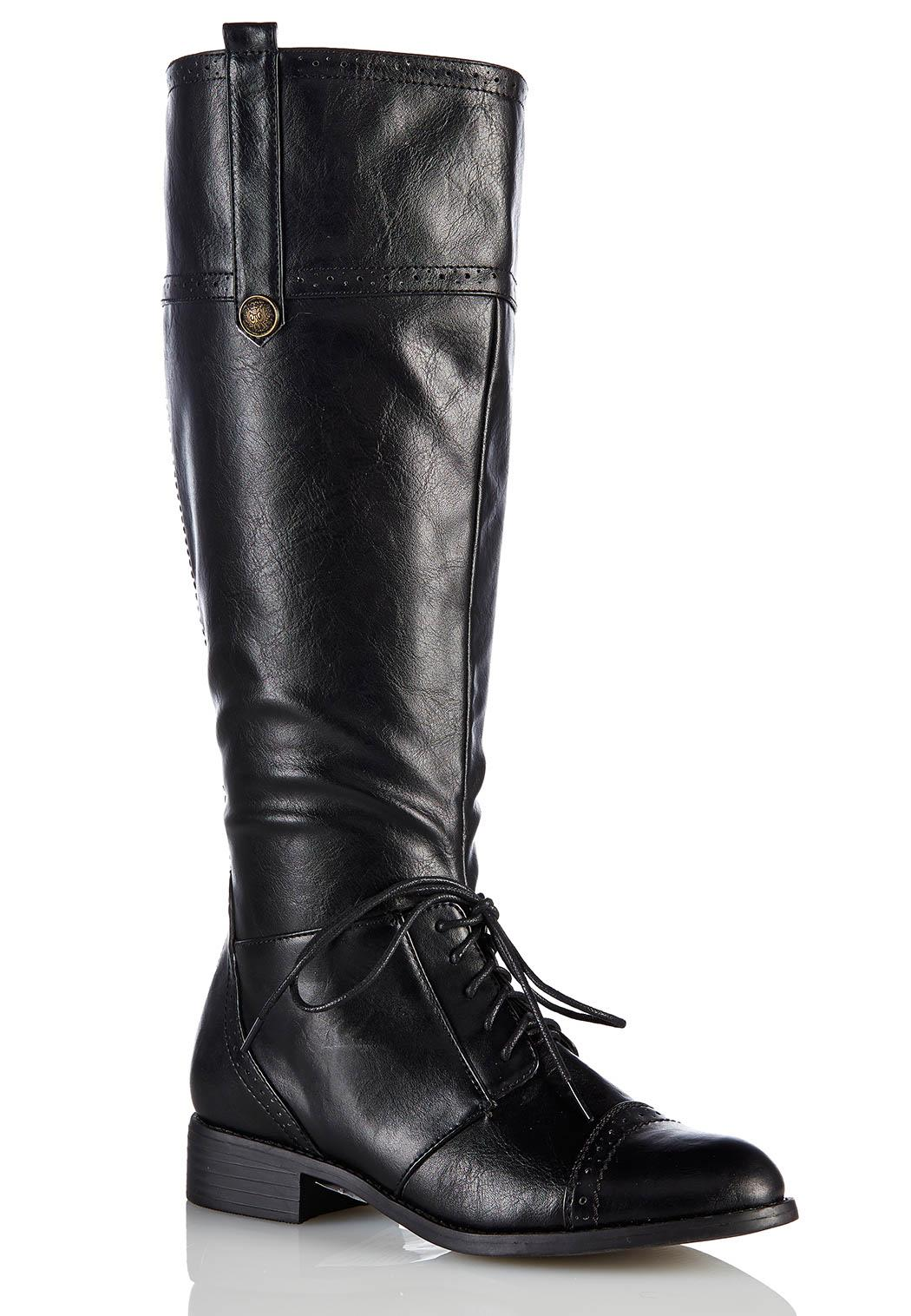 Shoes boots lace up oxford riding boots style 30494454
