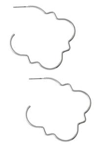 Open Moroccan Hoop Earrings