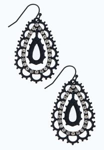 Fancy Tear Shaped Earrings