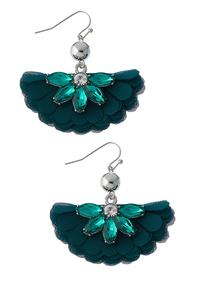 Chiffon Petal Earrings