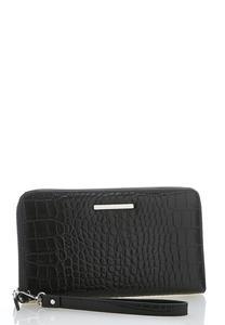 Croc Wristlet Wallet