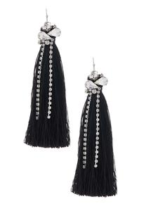 Glitzy Tassel Earrings