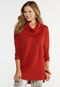 Solid Cowl Tunic
