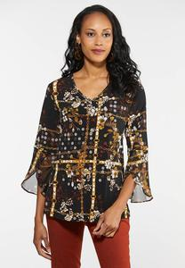 Plus Size Flutter Status Top