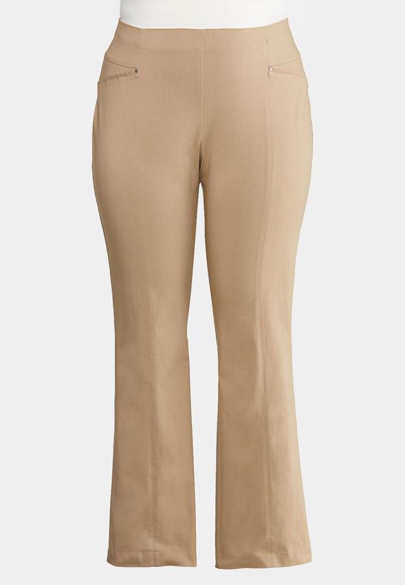 74263b1592 Plus Size Bengaline Bootcut Pants