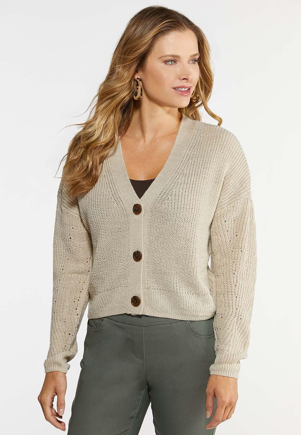 Skimmer Button Cardigan
