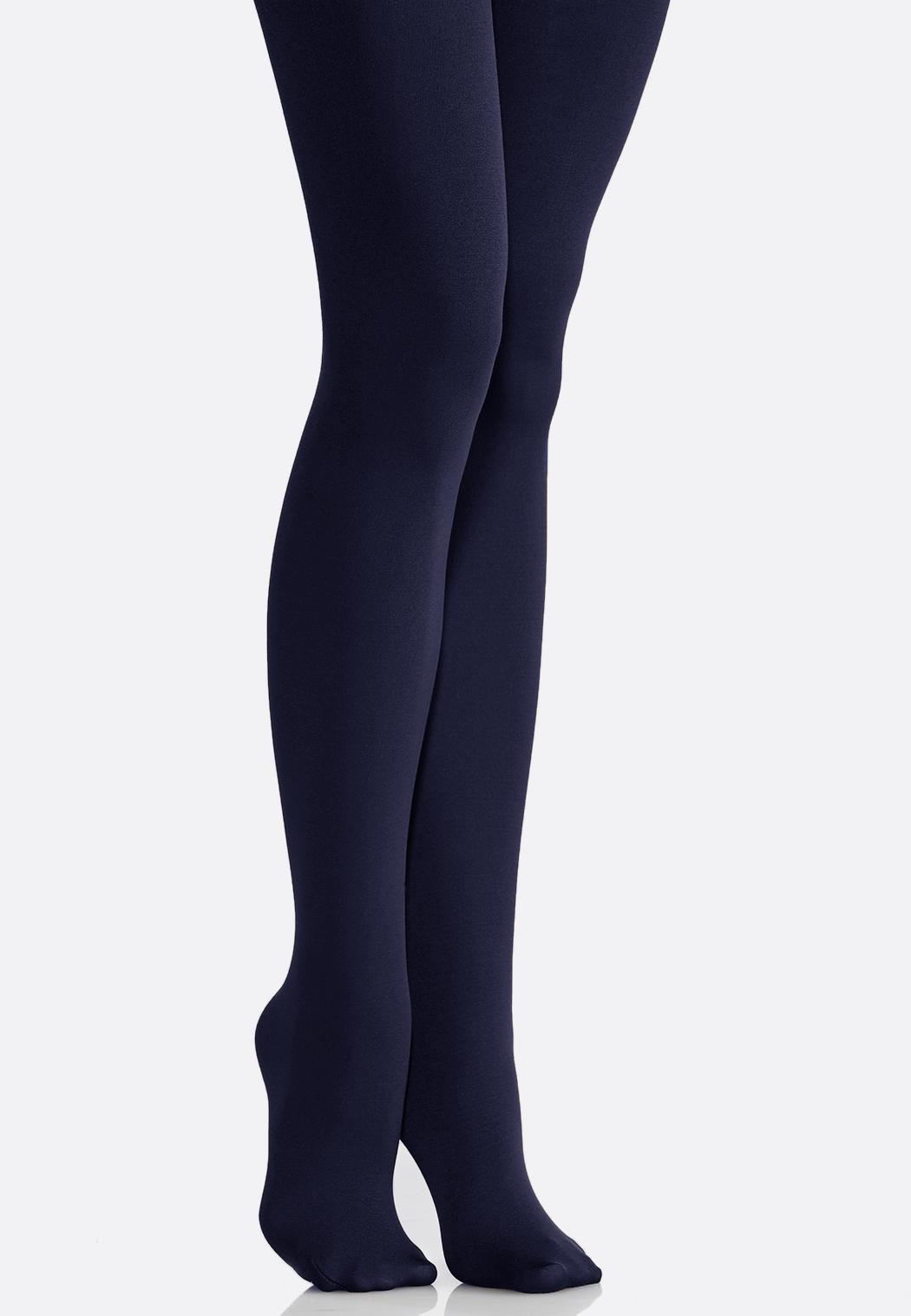 Plus Size Fleece Lined Tights