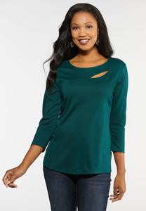 Cut Out Ponte Top