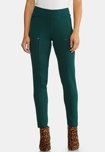 Slim Utility Ponte Pants