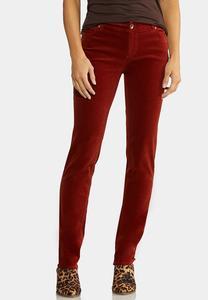 Corduroy Slim Pants