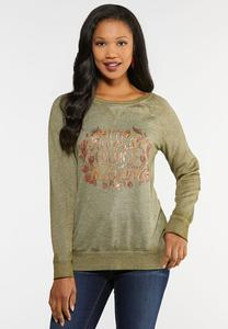 Plus Size Autumn Colors Top