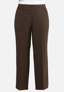 Plus Extended Curvy Trouser Pants