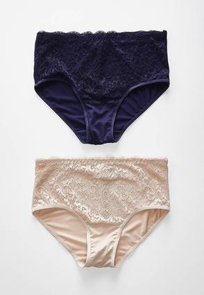 High Waist Lace Panty Set