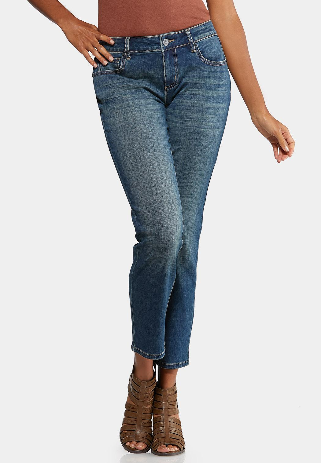 Girlfriend Ankle Jeans