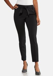 Tie Waist Dress Pants