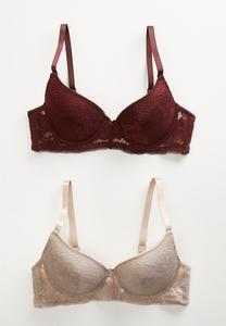 Floral Lace Bra Set