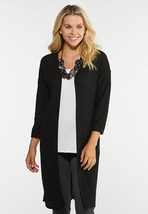 Grommet Back Cardigan