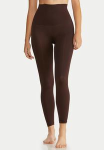 Plus Extended The Perfect Brown Shaping Leggings