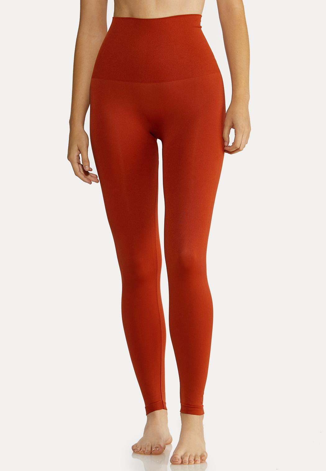 Plus Size The Perfect Rust Shaping Leggings