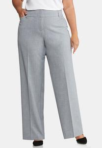 Plus Extended Curvy Shape Enhancing Trouser Pants
