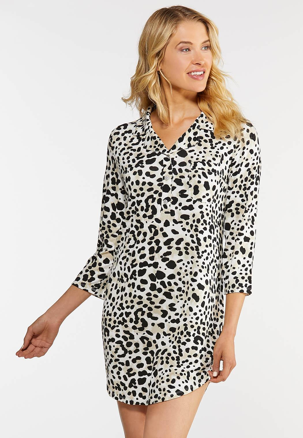 Leopard Sleep Shirt
