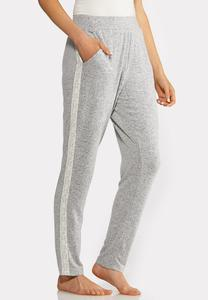Lace Trim Sleep Pants