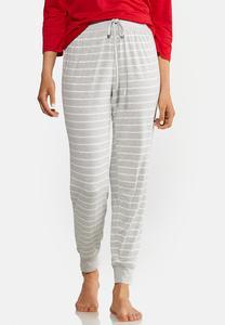 Striped Jogger Sleep Pants