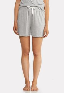 Gray French Terry Shorts