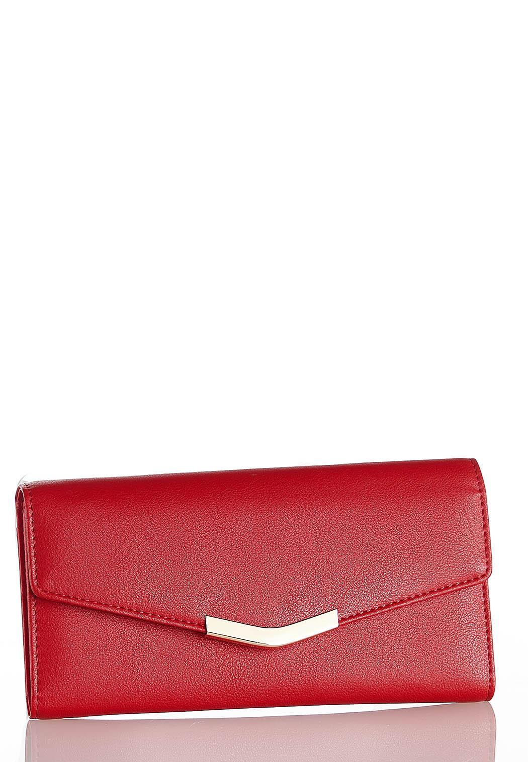 Classic Red Wallet