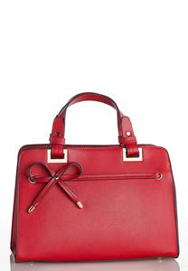 Red Bow Satchel