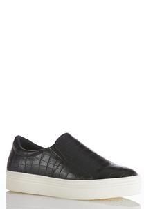 Croc Platform Sneakers