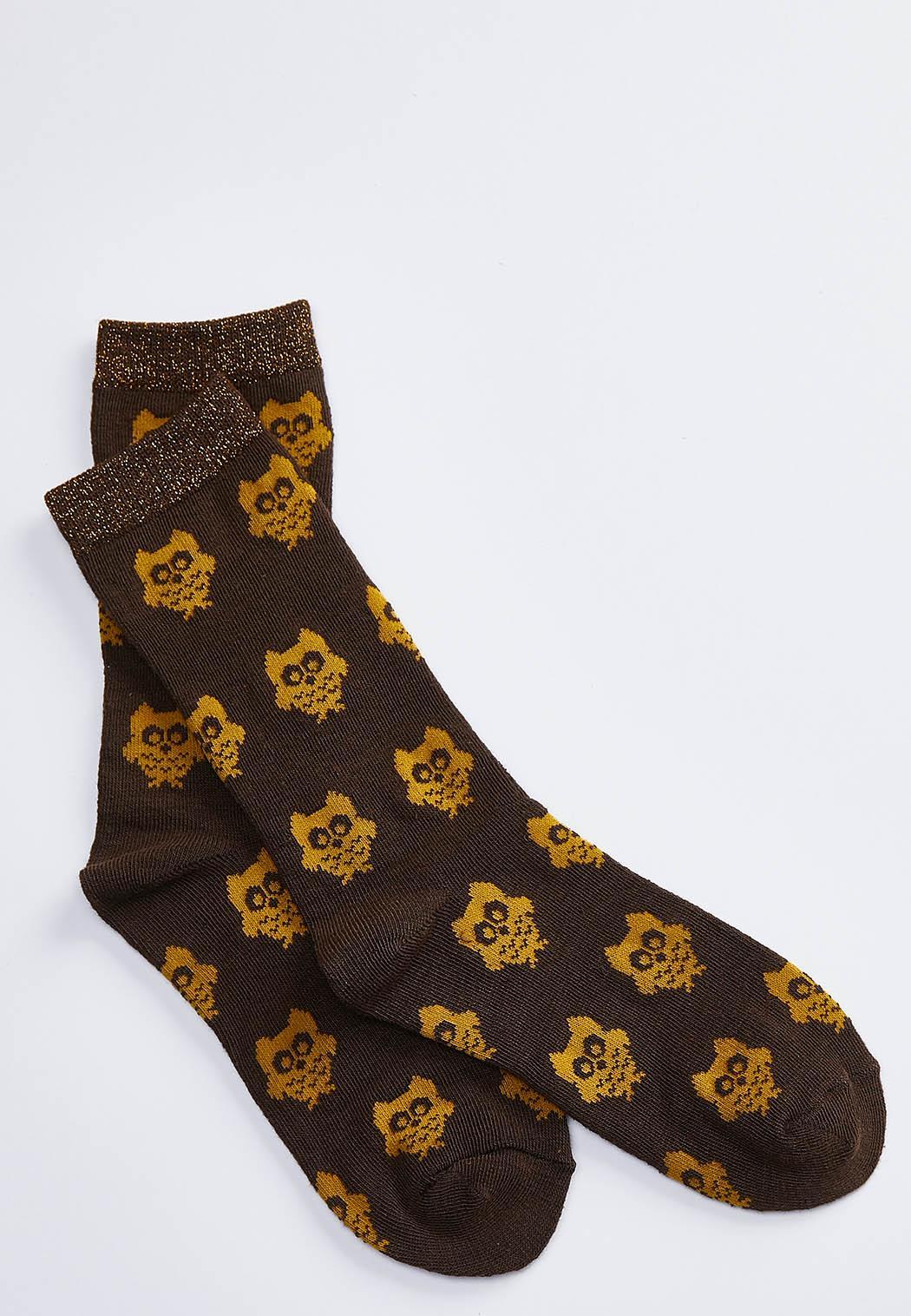 Mini Owl Socks