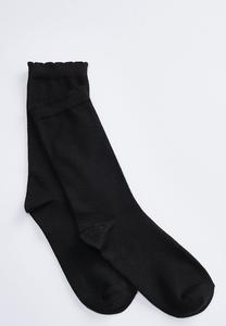 Super Soft Ruffle Top Socks