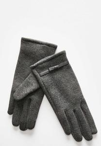 Tech Touch Knit Bow Gloves