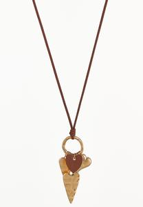Hearts Galore Pendant Necklace