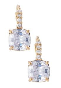Sparkling Cushion Cut Earrings