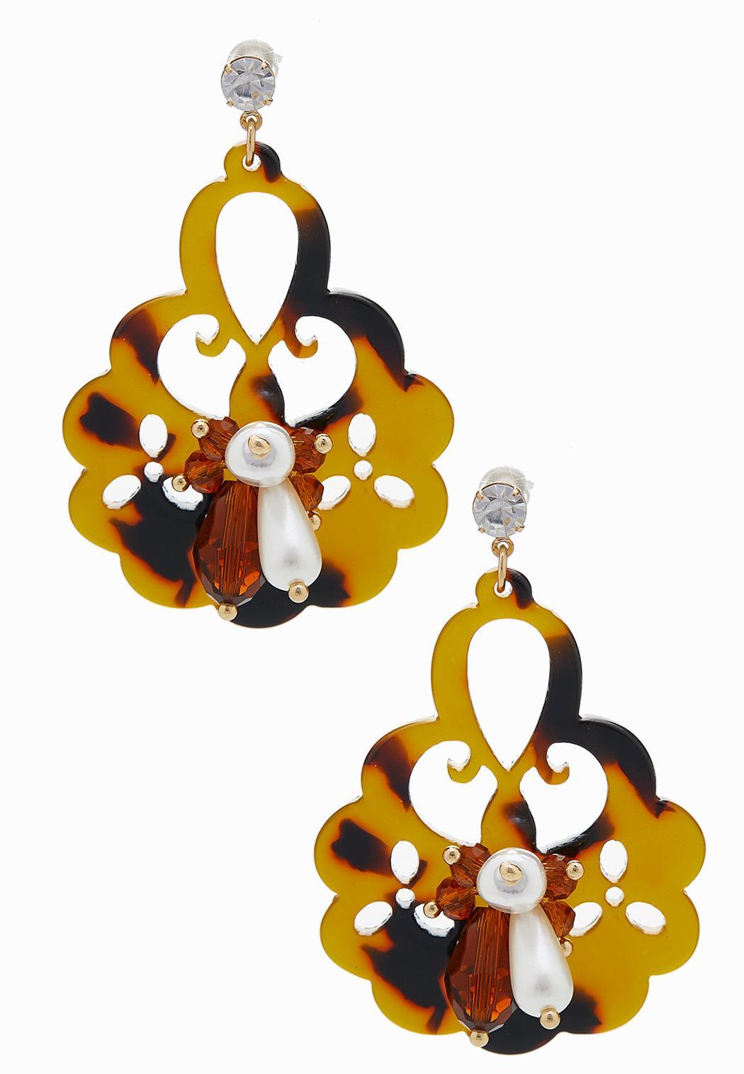 Decorative Tortoise Earrings
