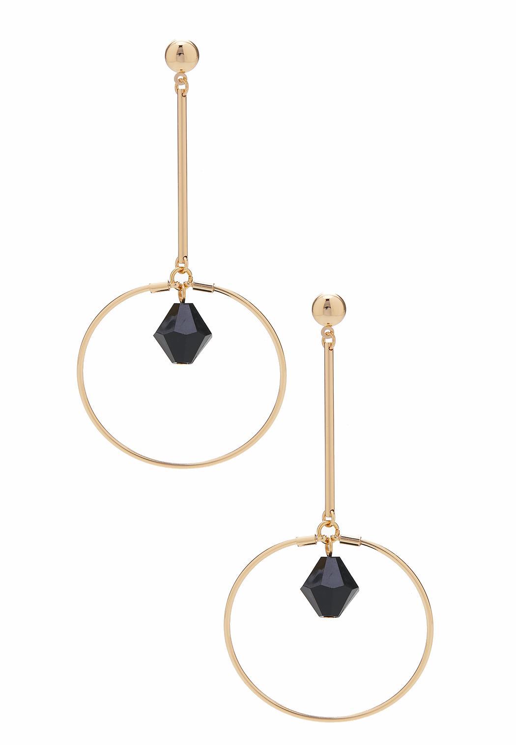 Linear Bead Earrings