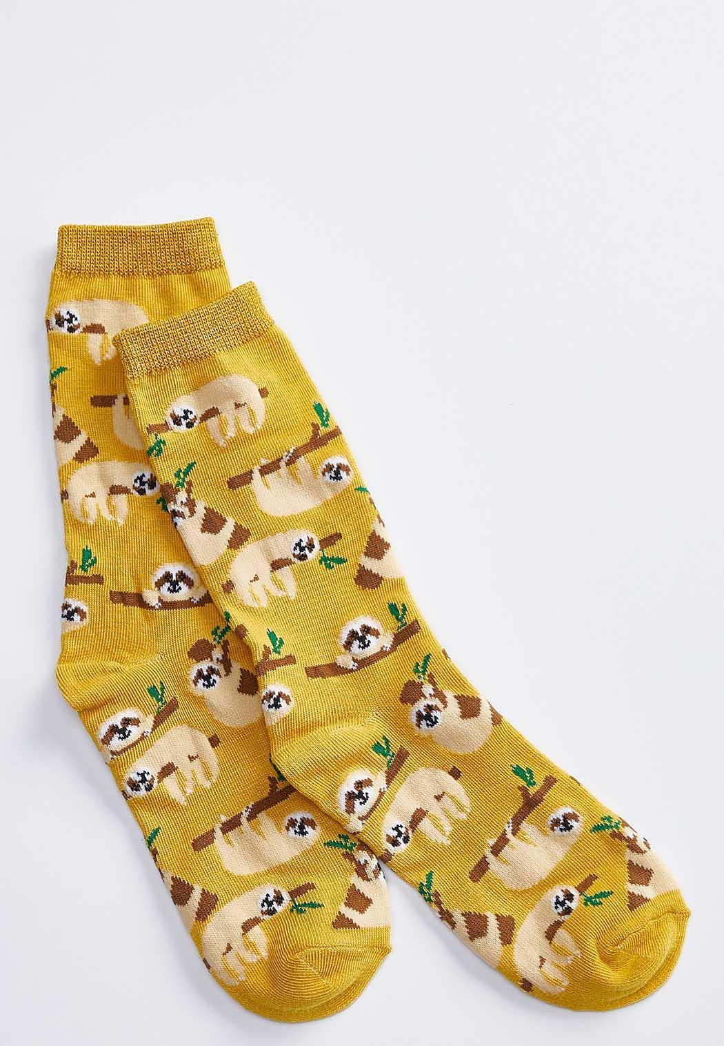 Lounging Sloth Socks