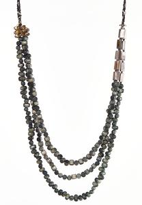 Wondrous Wooden Bead Necklace