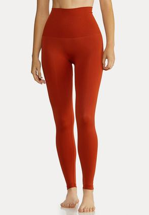 Plus Extended The Perfect Rust Shaping Leggings
