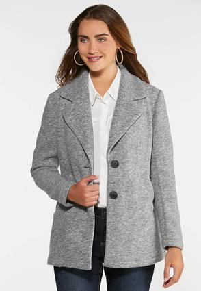 Plus Size Outerwear Coat