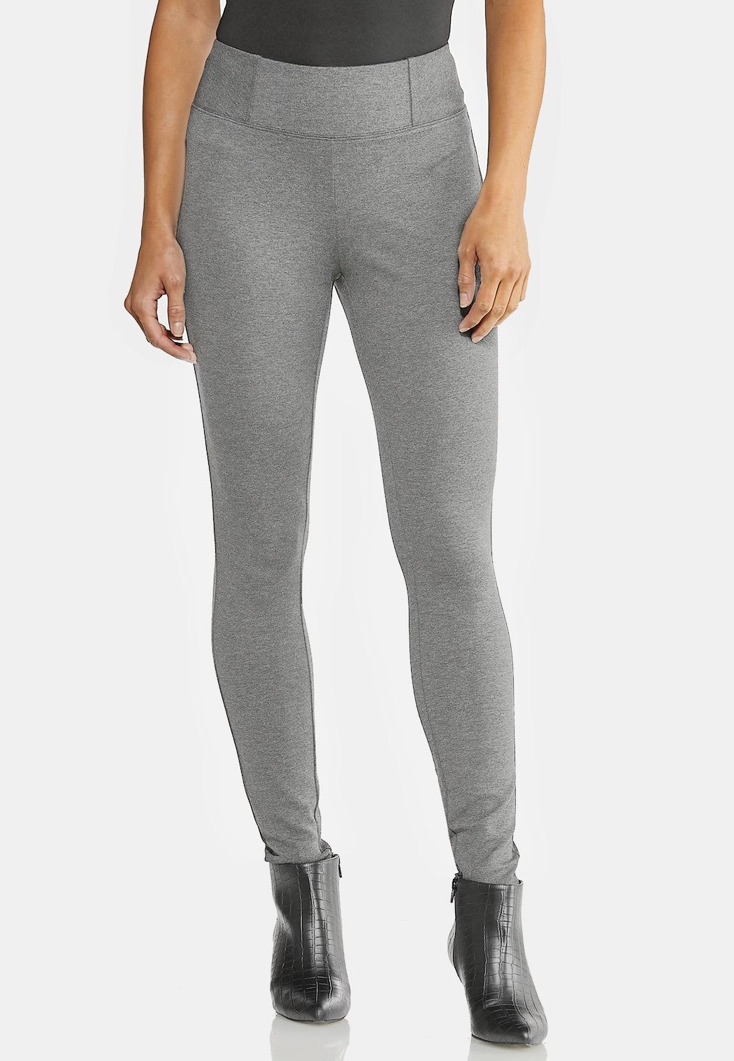 Solid Ponte Leggings