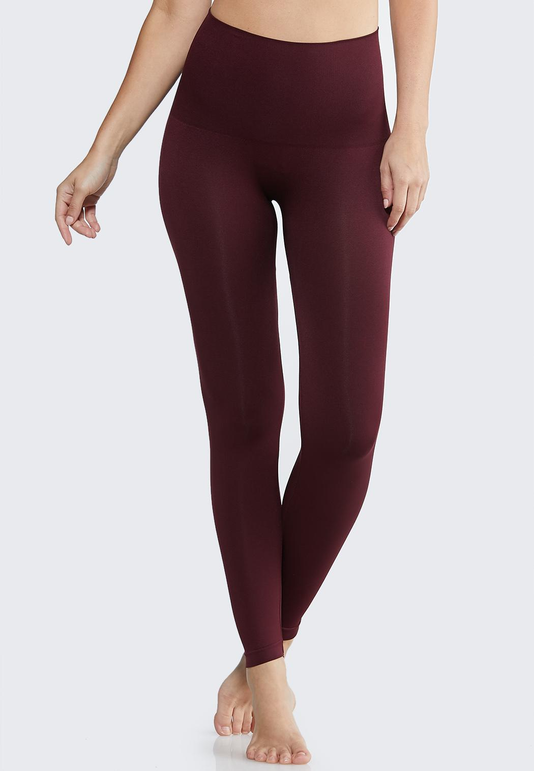 Plus Extended The Perfect Wine Shaping Leggings